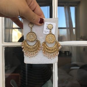 Jewelry - Indian gold earrings